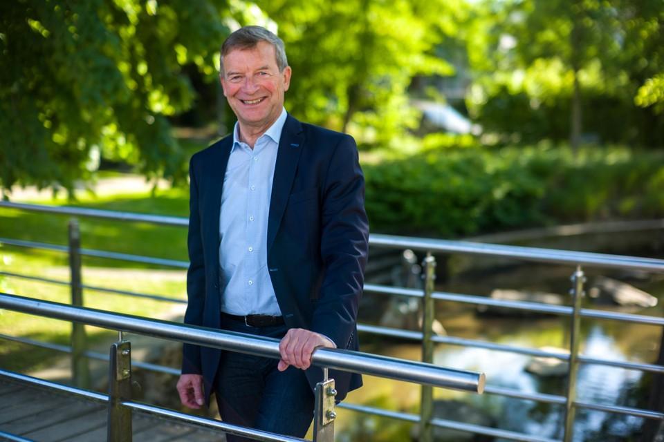 Burgemeester Johan Sauwens