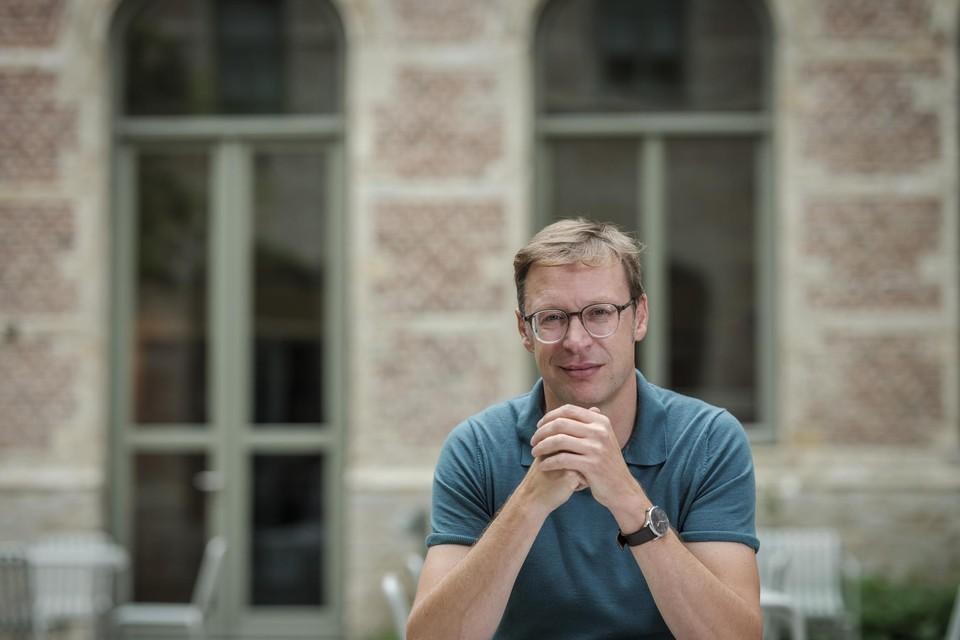 VRT-journalist Koen Wauters.