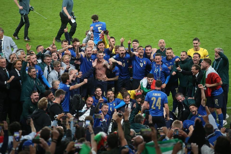 Italië zal het als Europees kampioen opnemen tegen Argentinië.
