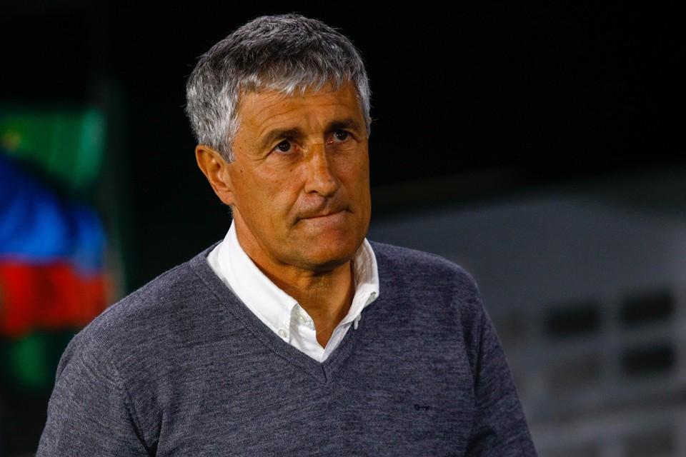 Quique Setien moet Valverde opvolgen bij FC Barcelona.