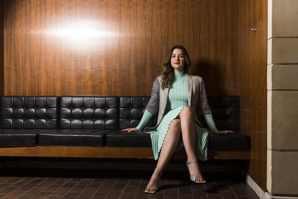 """Louise Osieka (30) is de nieuwe directeur van C-Mine: """"Het liefst wil ik dingen veranderen en laten groeien en dat kan volgens mij alleen maar op plekken die potentieel hebben."""""""