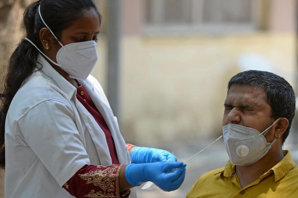 De drie gezinnen liepen de besmetting op na een familiebezoek in India (themafoto).