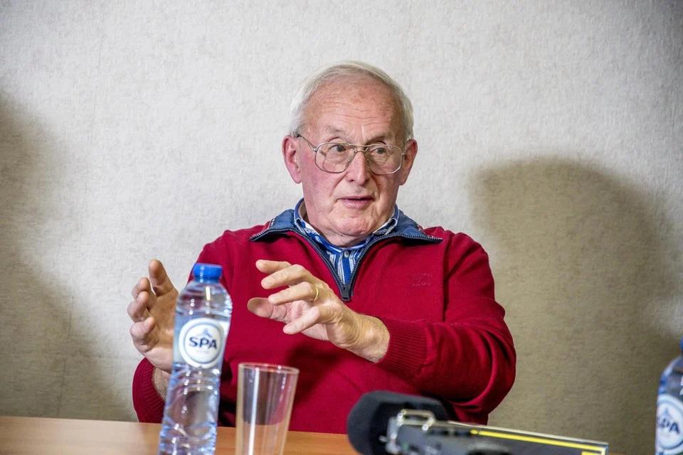Oud-burgemeester Serge Louwet.