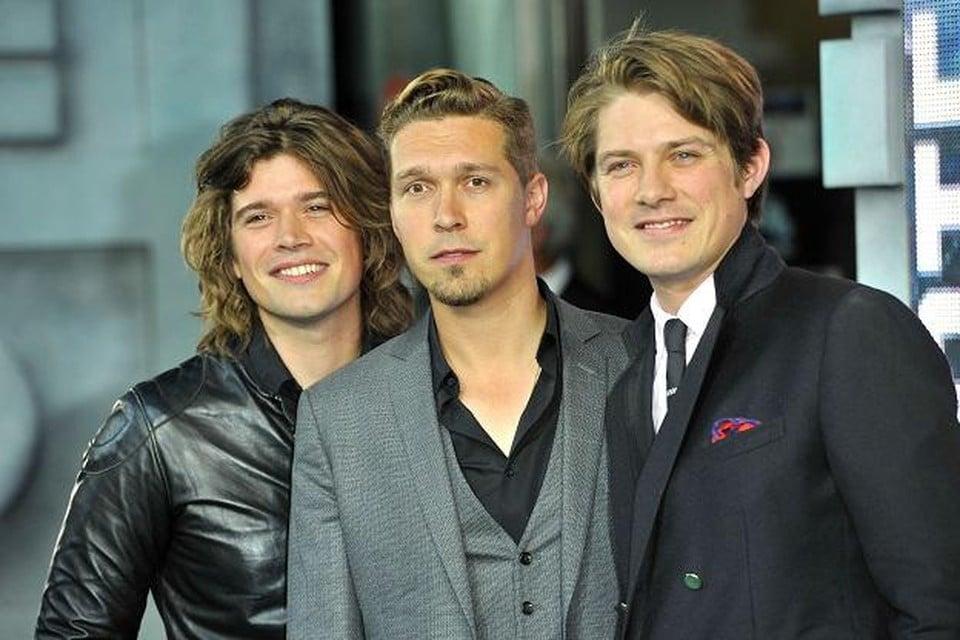 Zach, Isaac en Taylor Hanson.