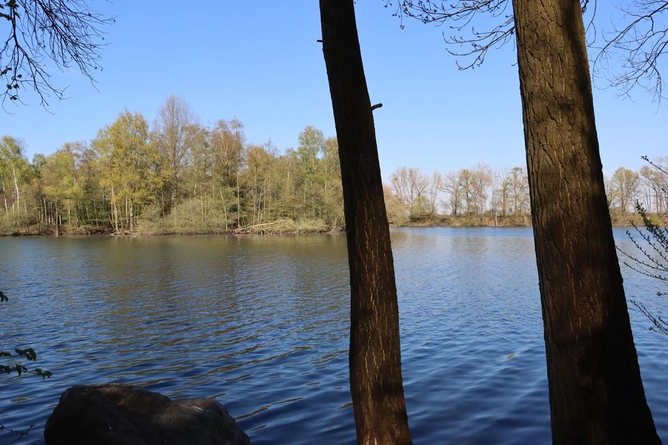 In de grindplas Het Greven in Lanklaar verdronk vorig jaar nog een jongen van 19 jaar.