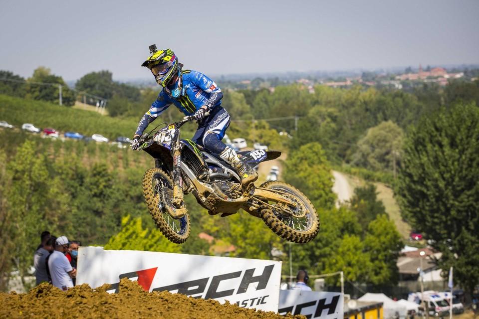 Jago Geerts pakte zijn vijfde GP-zege van het seizoen in Pietramurata.