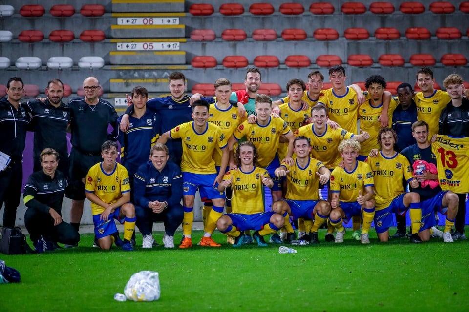 Spelers en staf van KVK Wellen keerden met opgeheven hoofd huiswaarts.