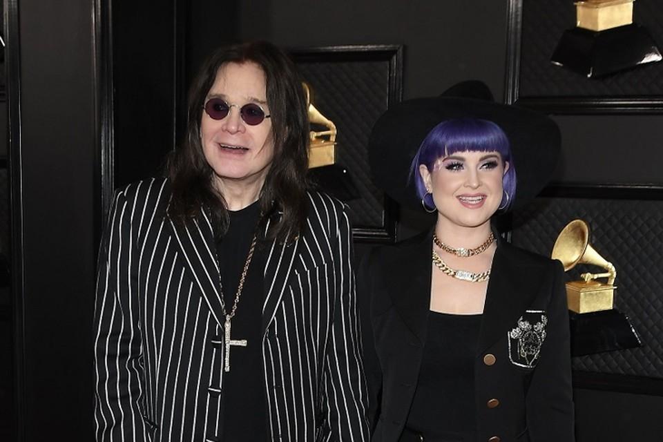 Ozzy en Kelly Osbourne