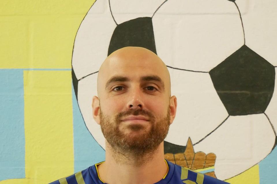 Palaia: goed voor drie goals bij Louwel.