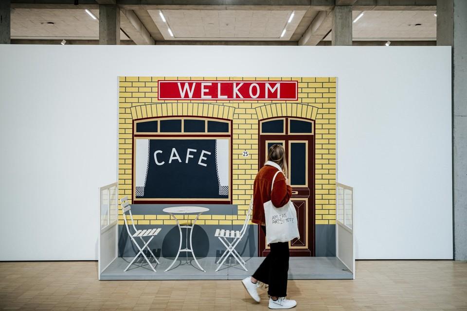 Café welkom van Joseph Willaert.