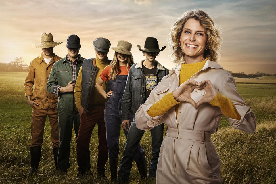 Maandag stelt Dina Tersago de boeren uit het nieuwe seizoen van 'Blind getrouwd' - weliswaar onherkenbaar - aan u voor.