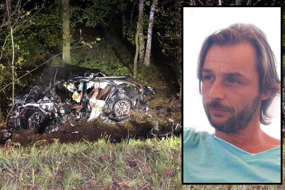 Nico Verschoore (45) verloor de controle over het stuur en raakte van de snelweg af. Hij overleefde het ongeval niet.