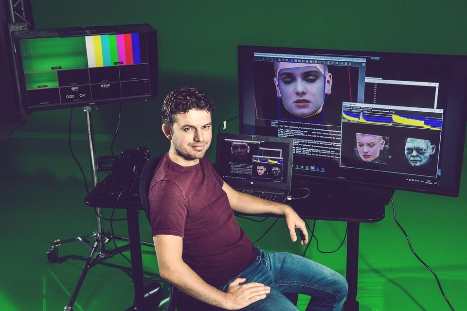 Het gezicht van zangeres Sinéad O'Connor veranderen in dat van Gollem uit 'The Lord of the Rings'? Geen probleem voor Chris Umé.