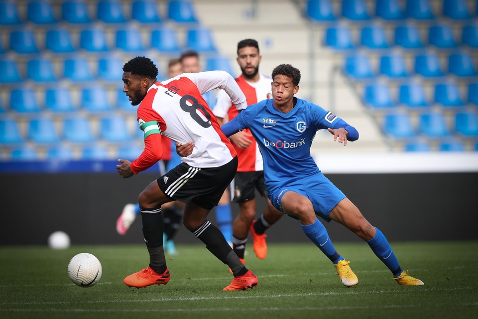 Vorig seizoen oefenden Genk en Feyenoord nog wel tegen mekaar.