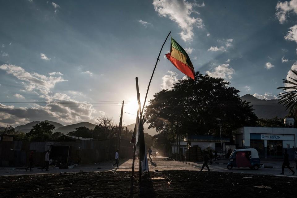 In de Ethiopische grensstreek woedt al meer dan een maand een felle burgeroorlog.