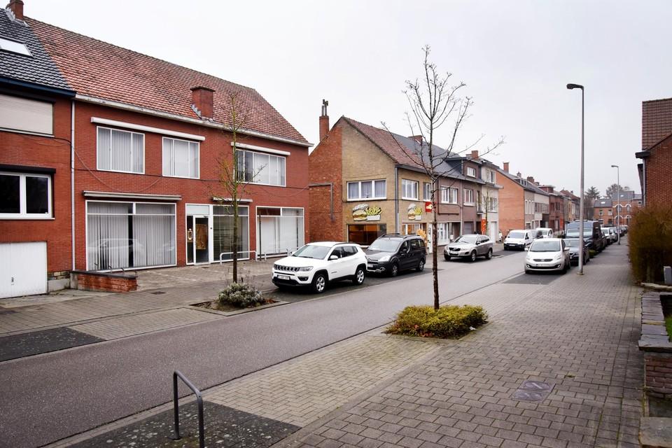 De Helipoststraat in Runkst. In de jaren vijftig kwam in deze buurt een helikopter de post brengen en ophalen.