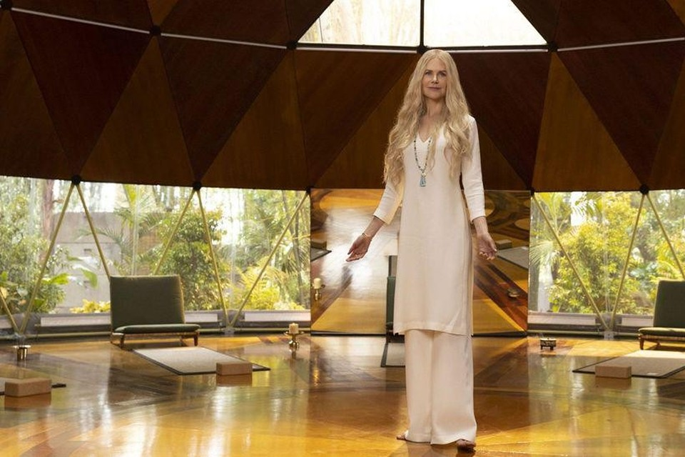 Nicole Kidman als manipulerende goeroe Masha in 'Nine Perfect Strangers'.