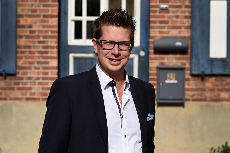 Burgemeester Thomas Vints (CD&V) van Beringen.