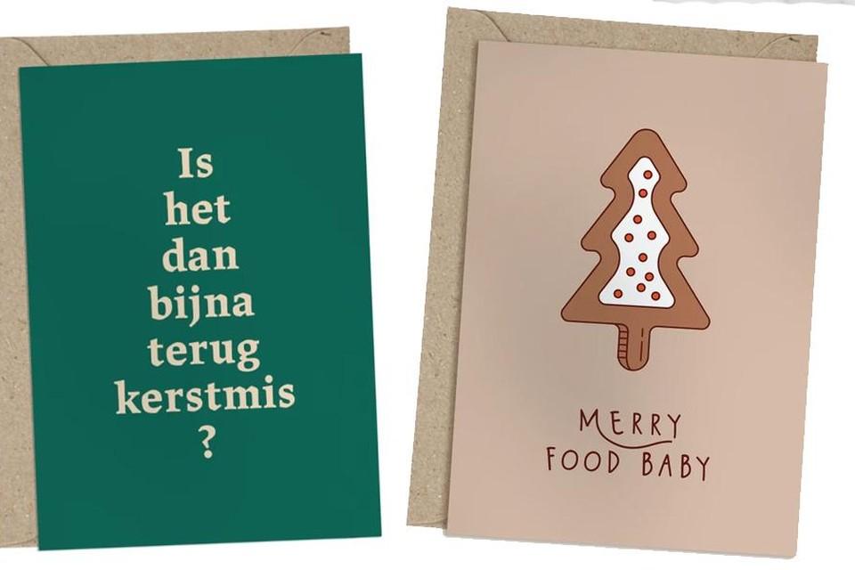 Losse kerstkaartjes vanaf 2,50 euro via via www.belgunique.be