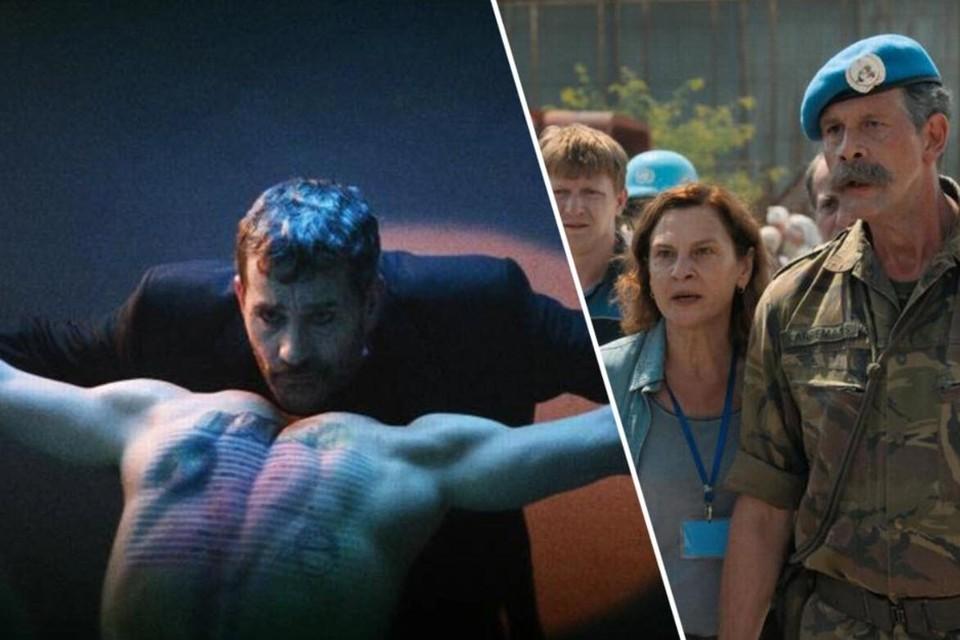'The man who sold his skin' met Koen De Bouw maakt kans op een Oscar, net als 'Quo vadis Aida' met Johan Heldenbergh.