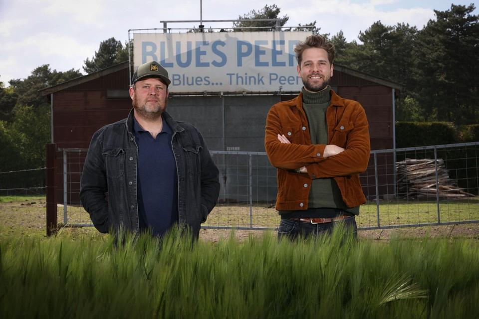 Tim Schreurs en Jan Bas, de nieuwe gezichten van de Blues Peer-organisatie.