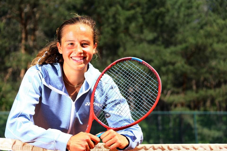 "Hanne Vandewinkel: ""Ik wil dit jaar alle grand slams spelen."""