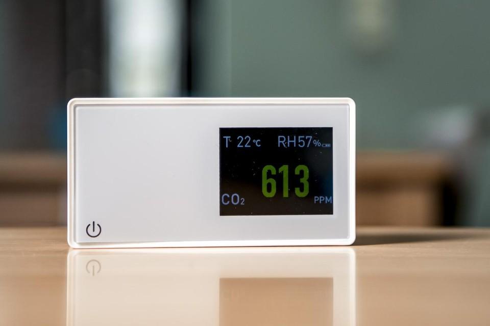 Een CO2-meter.
