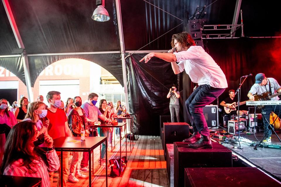 Bazart speelde begin juli nog aan Muziekodroom - toen nog met covidmaatregelen. Die zijn op Pukkelpopkwartier niet meer nodig.