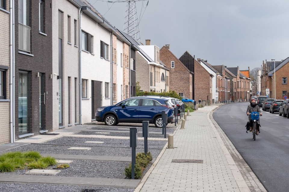 Veel Vlaamse voortuinen zijn verworden tot parkeerplaatsen van tegels en grind.