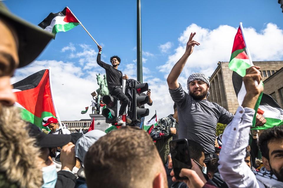 Ook in ons land kwamen de mensen op straat om Palestina te steunen.