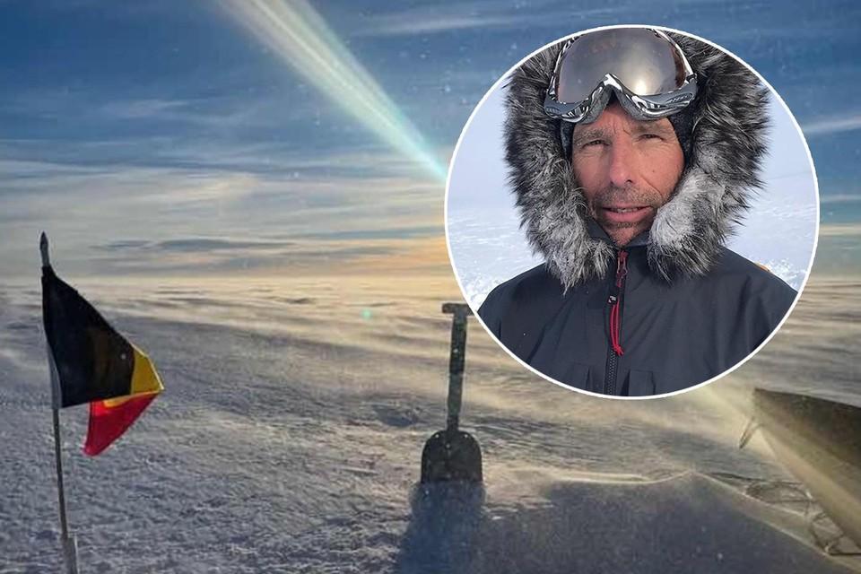 Dixie Dansercoer, bij één van de laatste beelden die gemaakt werden tijdens de expeditie in Groenland