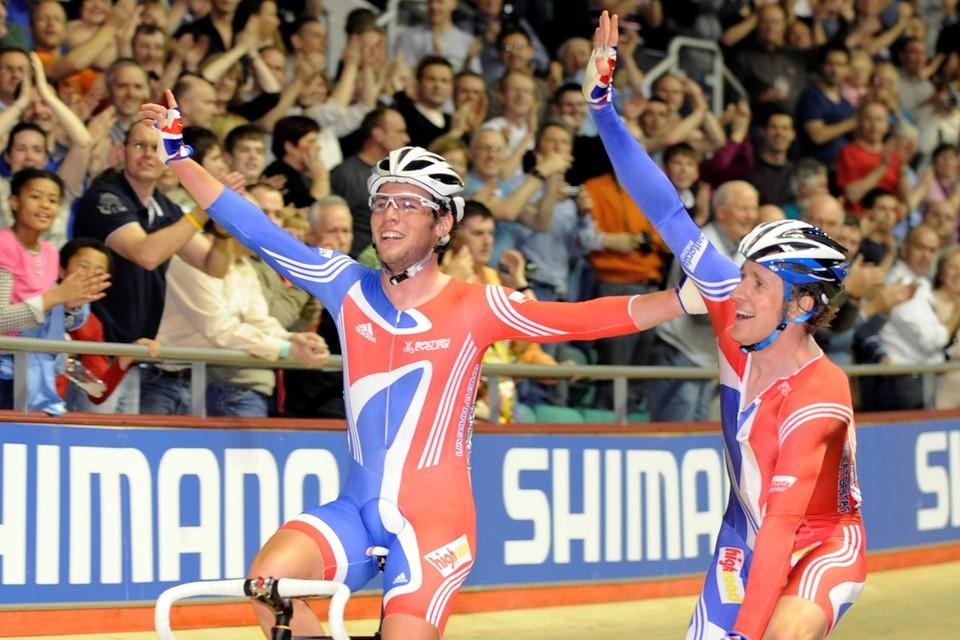 Cavendish en Wiggins reden regelmatig samen.