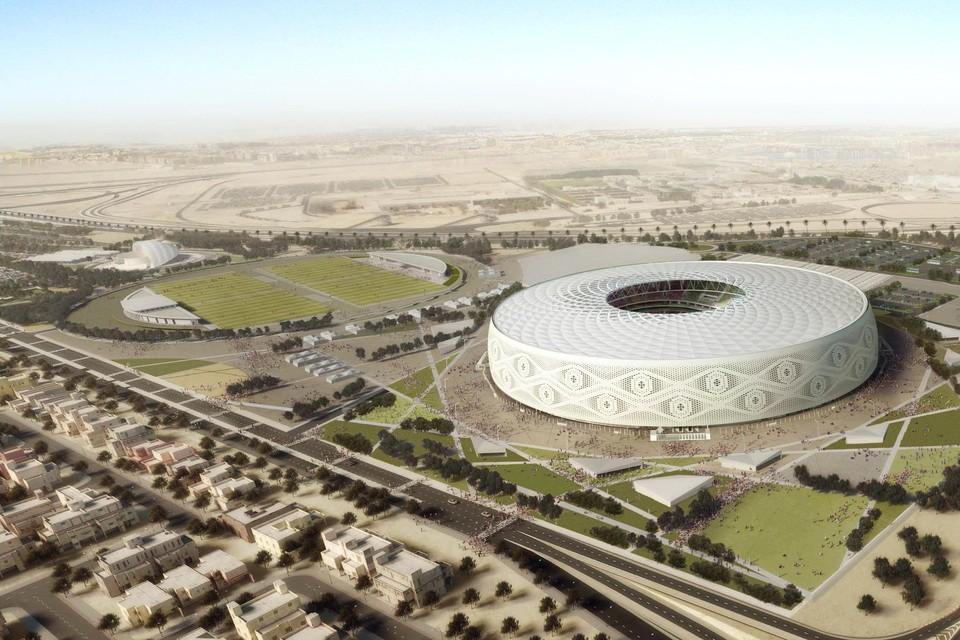Het Al Thumama stadion.