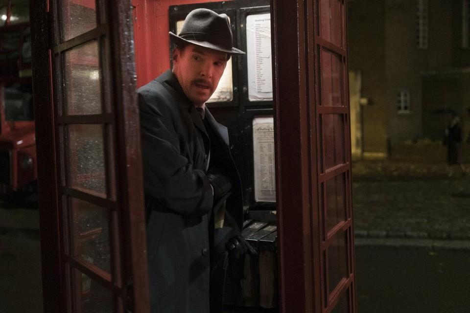 Benedict Cumberbatch als Greville Wynne, de zakenman die begin jaren 60 plots een spion moest worden, in 'The Courier'.