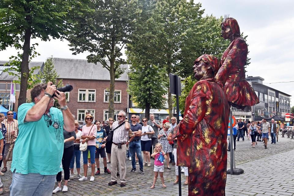 Het festival voor levende beelden in Lommel brengt in normale omstandigheden zo'n 50.000 bezoekers op de been.