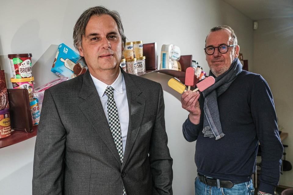 """Rik Zweegers en Peter Dewandere van Crème de la Crème. """"We zijn de switch aan het maken naar gezond, maar lekker."""""""