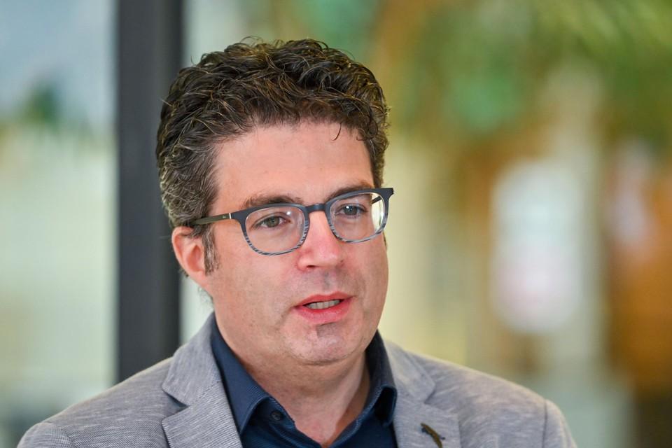 Viroloog Steven Van Gucht.
