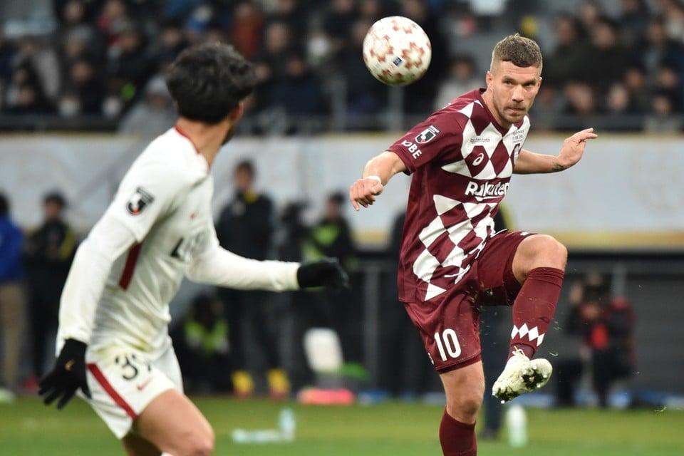 Podolski ruilt het Japanse Vissel Kobe voor het Turkse Antalyaspor.