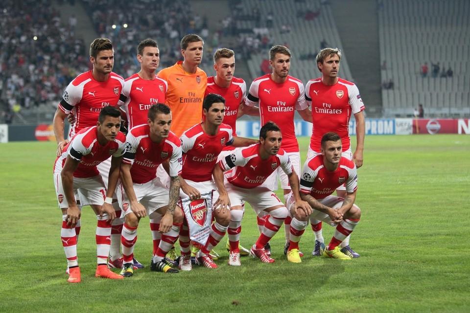 Arsenal: reekshoofd in Groep D
