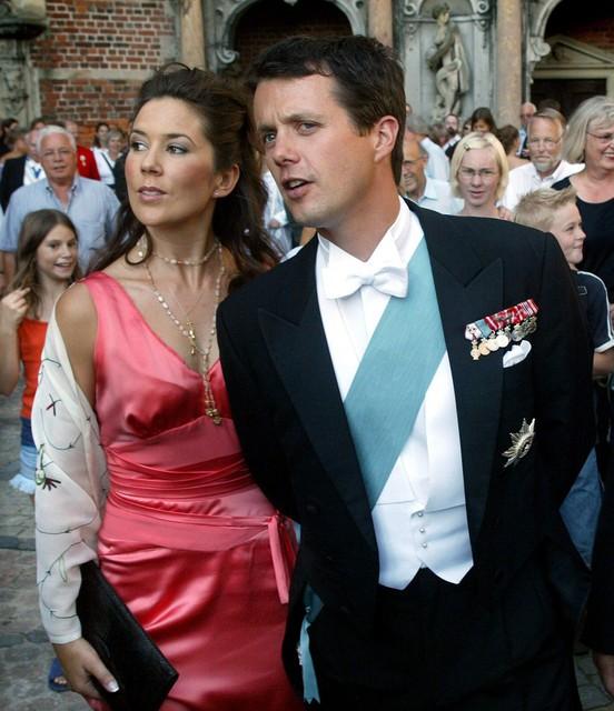 Archiefbeeld kroonprins Frederik en Mary Donaldson
