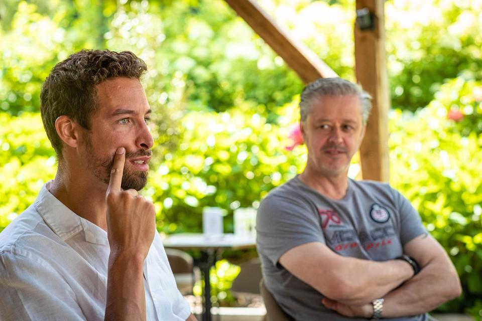 Pieter Timmers en Nico Derwael.