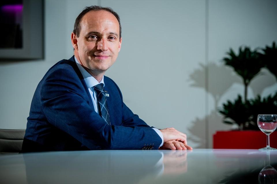 Burgemeester Wim Dries.