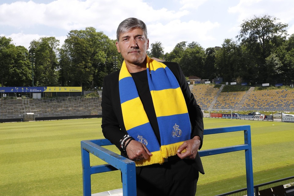 Felice Mazzu, huidig coach van Union.