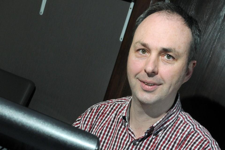 Onderzoeker Bert Driessen.
