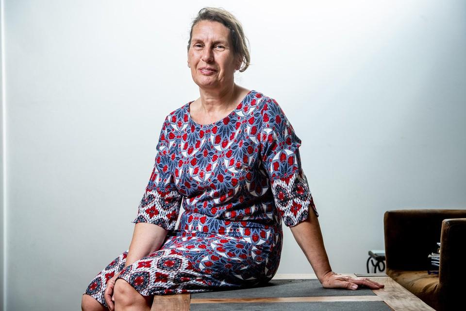 Linda Delva, voorzitter van het Limburgs Platform voor Mensen op de Vlucht, dat nu 25 jaar bestaat.