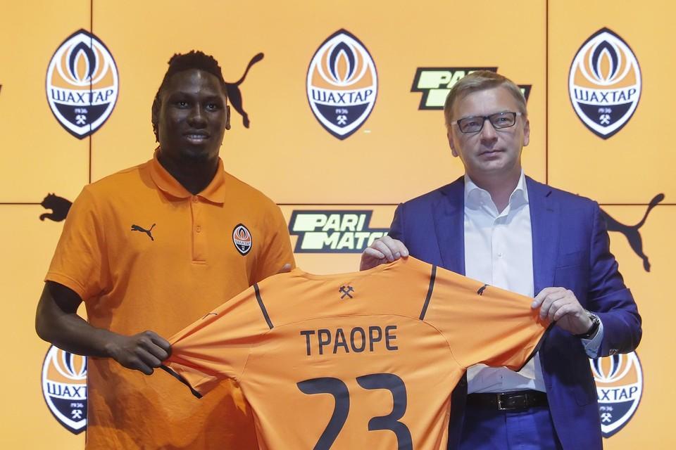 Ex-Ajacied Traoré scoorde bij zijn debuut.