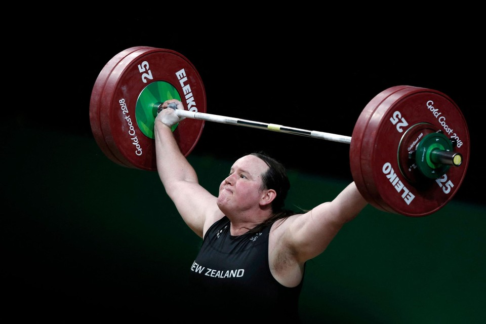 Laurel Hubbard zorgt voor een historisch moment op de Olympische Spelen.