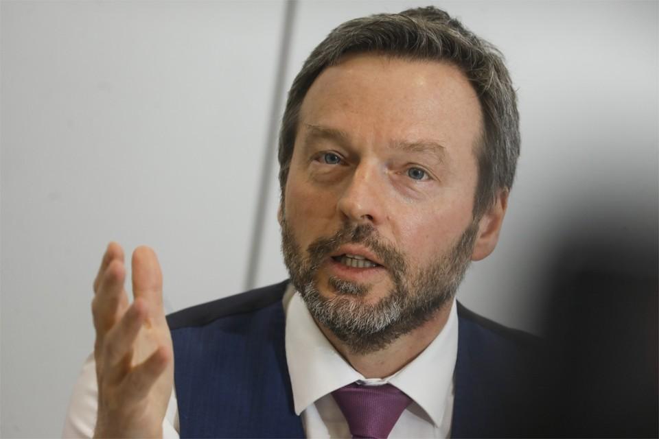 Gouverneur Pierre Wunsch van de Nationale Bank.