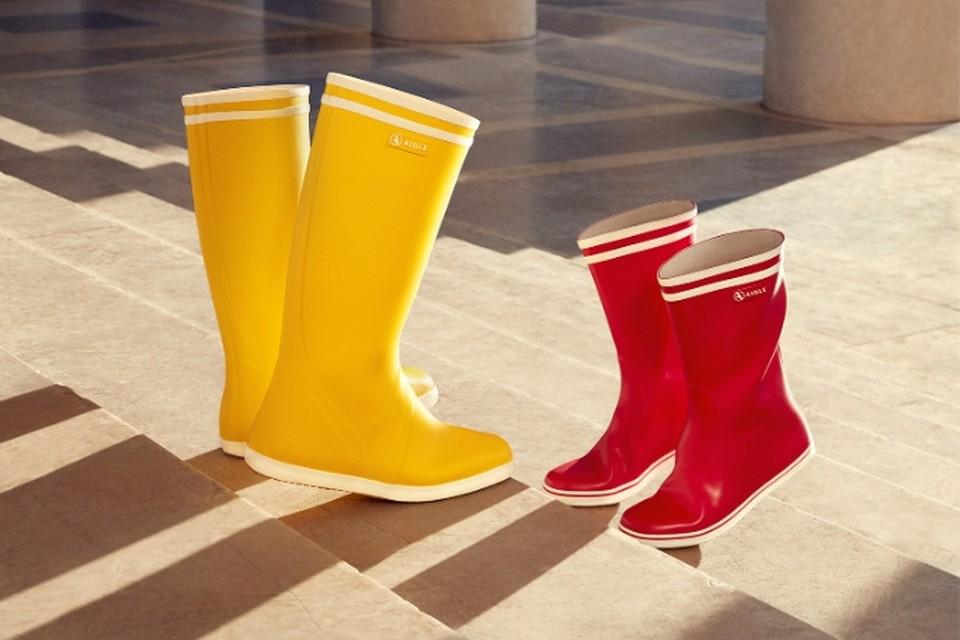 <P>Omdat echte liefde door weer en wind gaat, personaliseerbare laarzen - Aigle - 63 euro. Koop een blanco paar op Valentijn en laat ze nadien personaliseren door het Franse atelier IKKOE. </P>