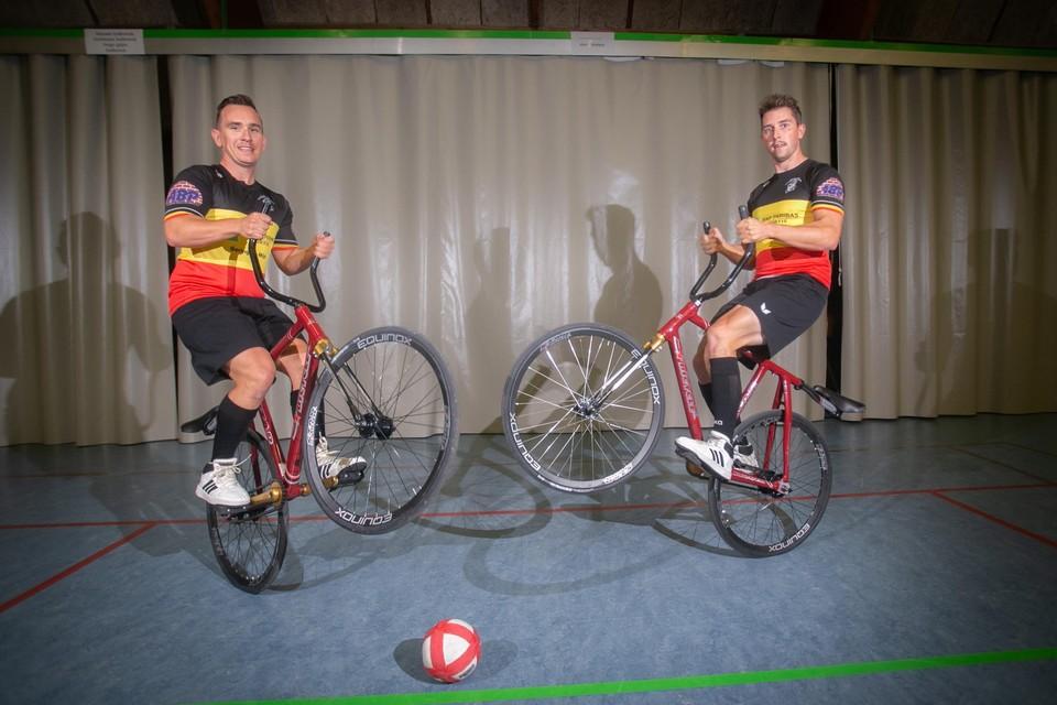 Niels Dirikx en Brecht Damen kroonden zich vorig weekend tot Belgisch kampioen.